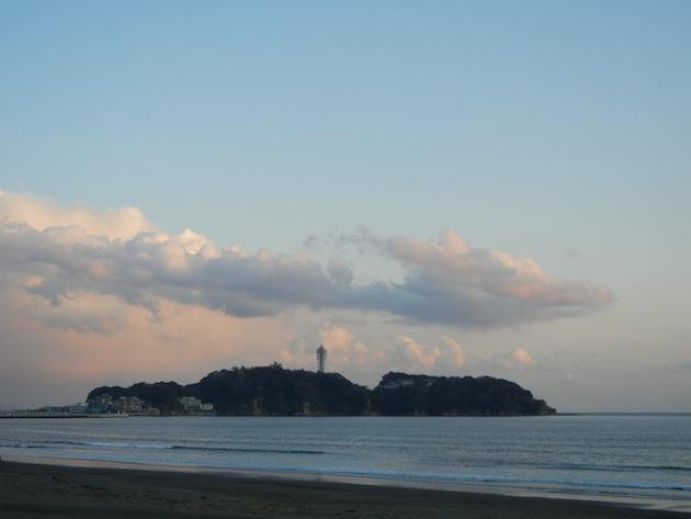 江ノ島 龍神 雲