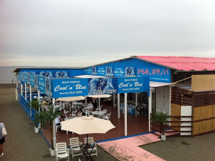 海の家 湘南 江ノ島 かもめ&ボサノバ