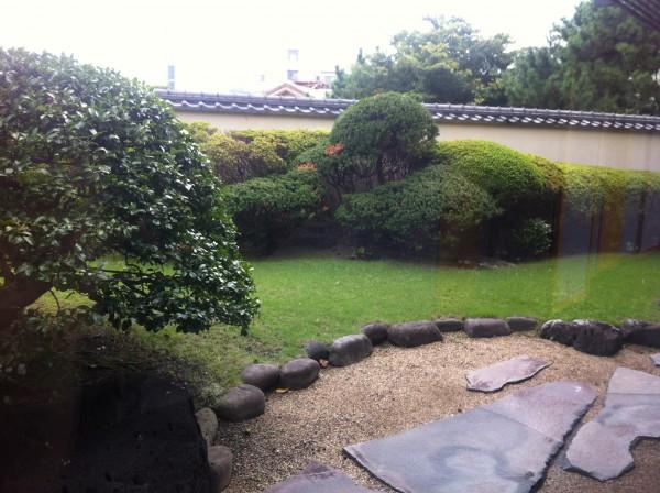 星野リゾート アンジン 庭園
