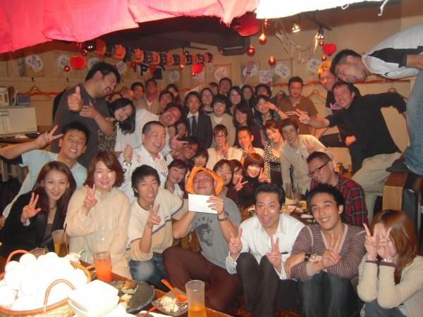 ワクワク飲み1周年記念@てっぺん渋谷女道場
