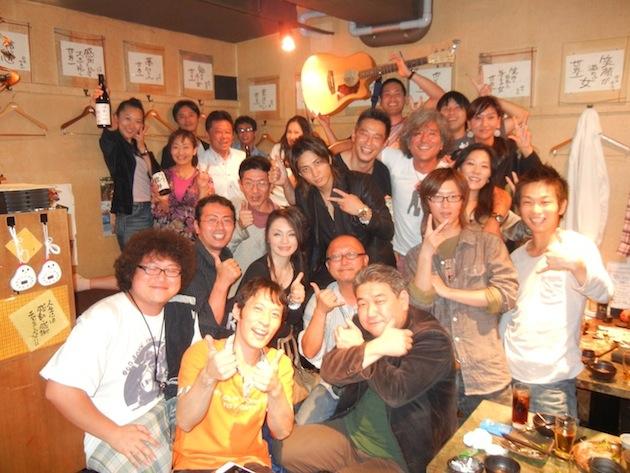 ワクワク飲み 3周年記念@てっぺん渋谷女道場