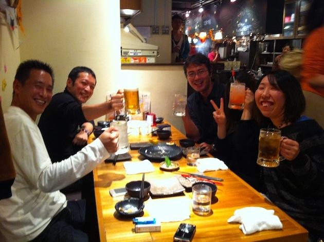 ワクワク飲み4周年記念 てっぺん渋谷女道場 0次会