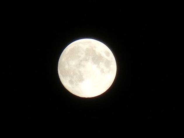 満月 月の土地 サプライズ