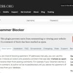 Spammer Blocker