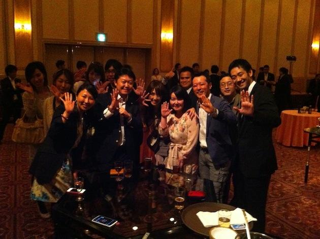 「World CEO Network&次世代CEO養成塾」設立記念パーティー(第1回ネットワーキングパーティー)