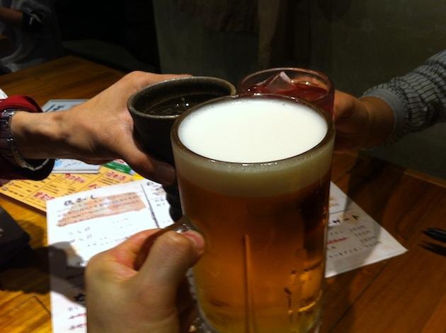 第45回東京ワクワク飲み@渋谷 乾杯