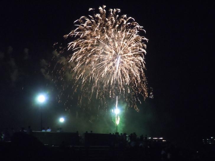 江の島納涼花火大会 2010