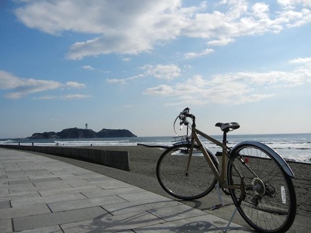 ツーリング 自転車 バイク