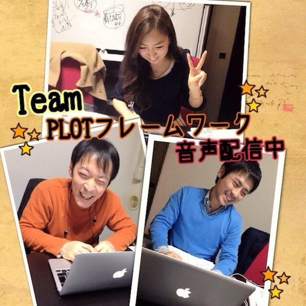 Team PLOTフレームワーク Podcast配信中