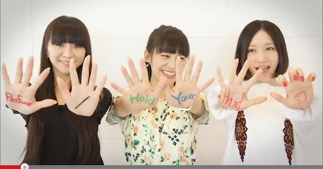 Perfume 「Hold Your Hand」