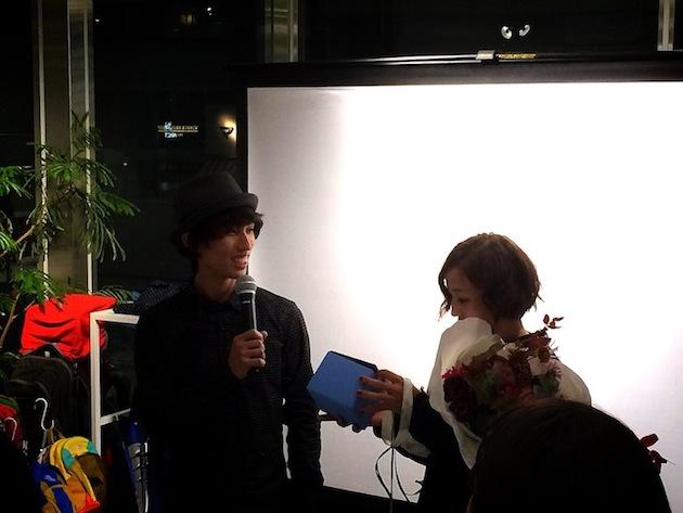 安間佐千さん 野口啓代 2014年ボルダリングワールドカップ 総合優勝 記念パーティー