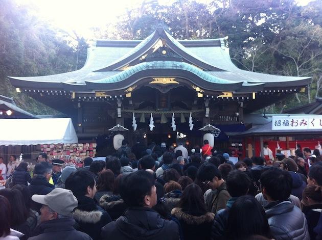 江島神社 初詣