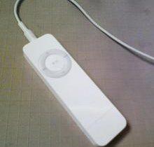 iPod shuffle アイポッド