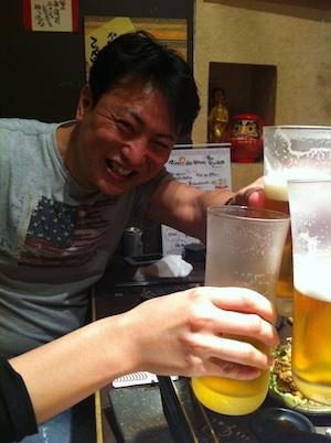 第37回東京ワクワク飲み@渋谷 嘉手苅さん