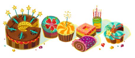 誕生日 グーグル Google