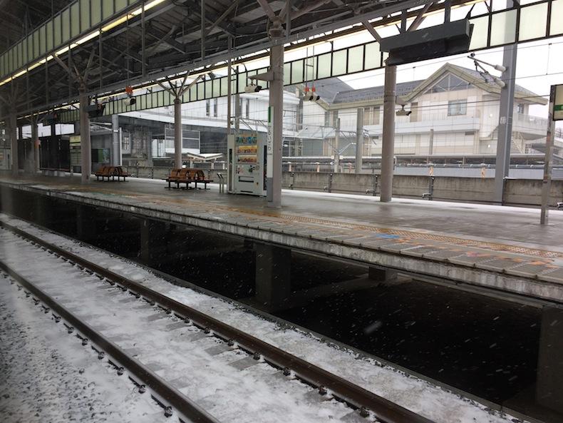 北陸新幹線 軽井沢