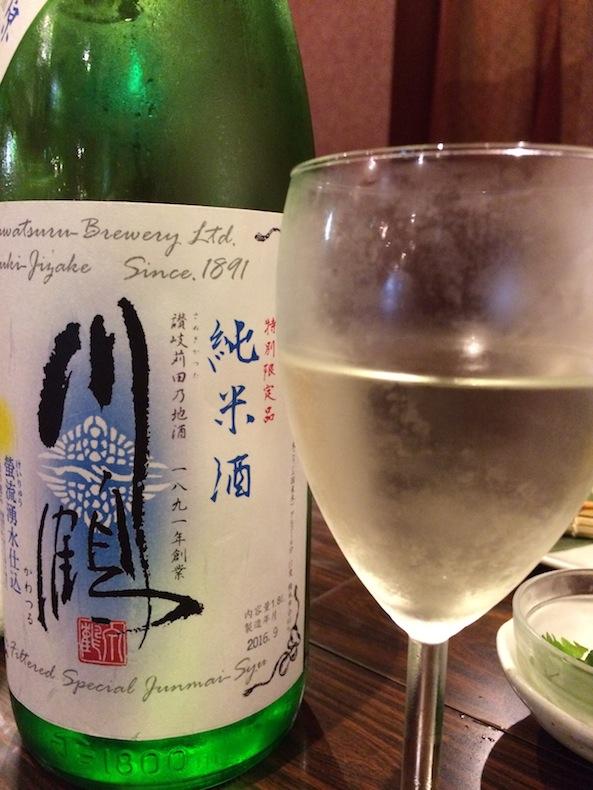酒晴 歌舞伎町 新宿 日本酒 川鶴 香川
