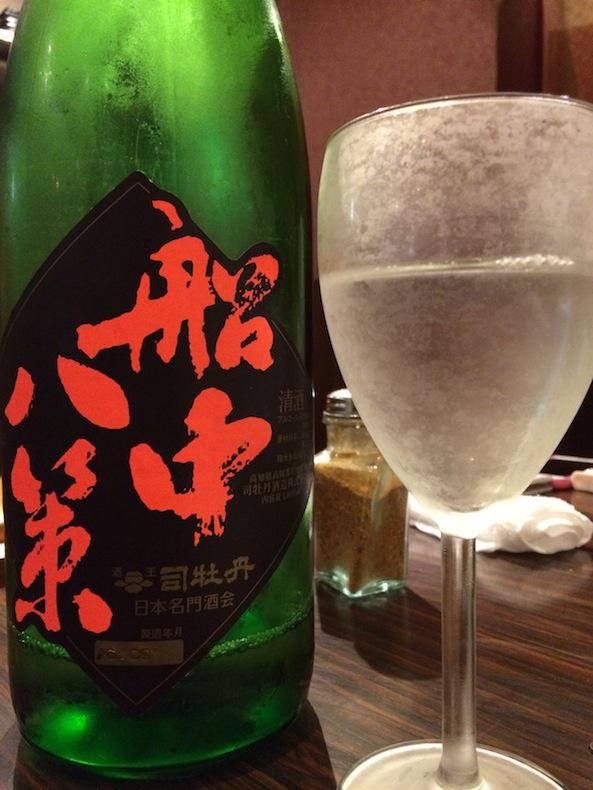 酒晴 歌舞伎町 新宿 日本酒 船中八策
