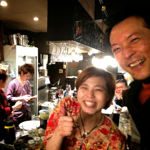 第61回東京ワクワク飲み@渋谷 新店長 結以ちゃん