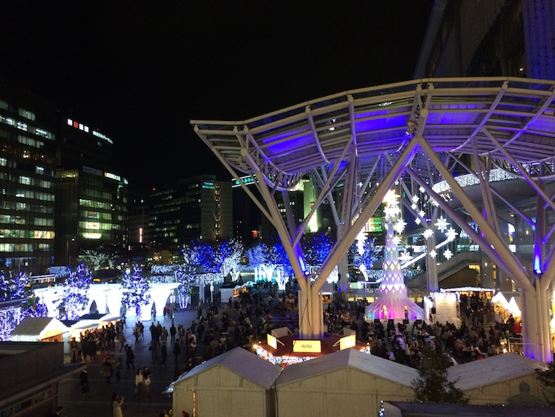 クリスマスマーケット博多